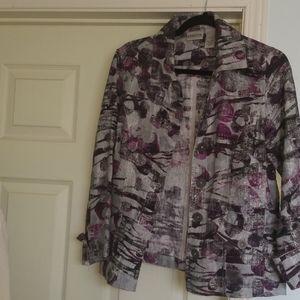 Chico's Linen Jacket NWOT